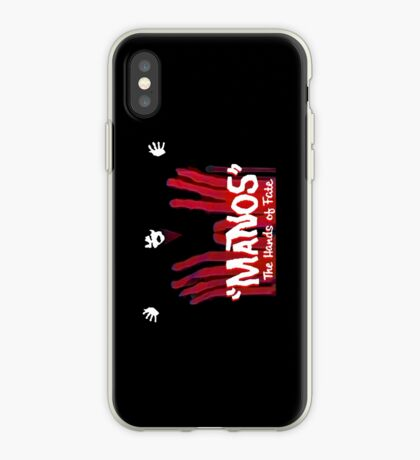 Manos!  The Hands of Fate phone case iPhone Case