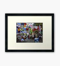 Wash Day - Dia De Lavado Framed Print
