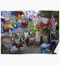 Wash Day - Dia De Lavado Poster