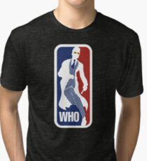 WHO Sport No.10 Tri-blend T-Shirt