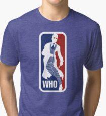 WHO Sport No.10 Tri-blend T-Shirt