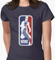 WHO Sport No.10 Womens Fitted T-Shirt