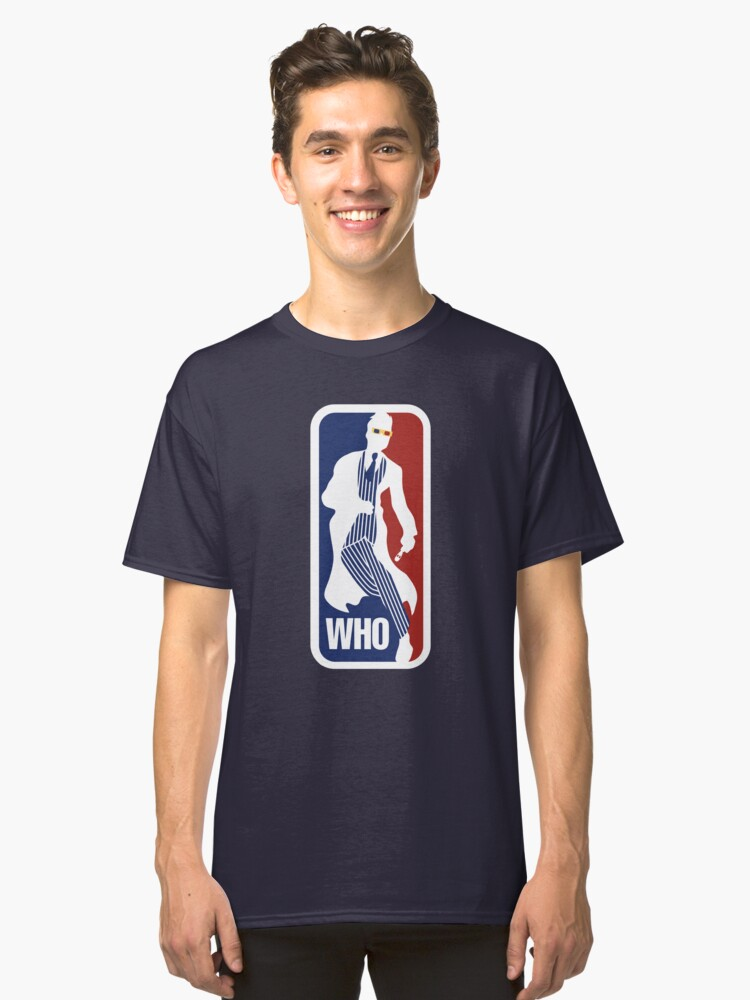 WHO Sport No.10 Classic T-Shirt Front