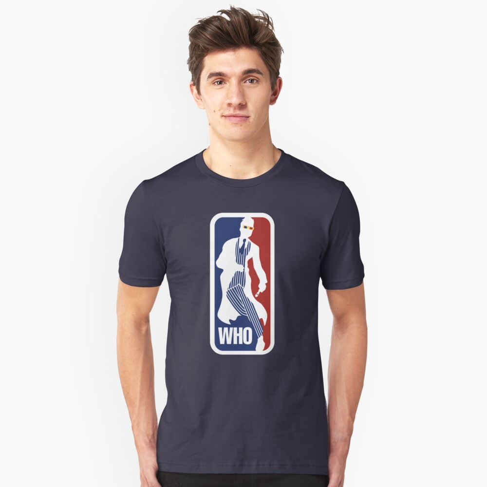 WHO Sport No.10 Unisex T-Shirt Front