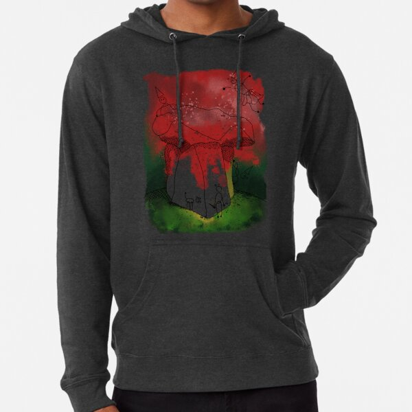 Witches at Arthurs Table Lightweight Hoodie