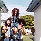 3 Hippie Amigos by Hank Eder