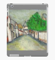 Street Scene (After Utrillo) iPad Case/Skin