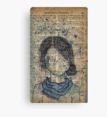 The It Girl Canvas Print