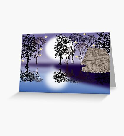 In the woods ( 1320 Views) Greeting Card