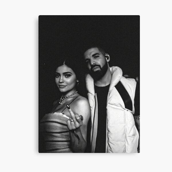 Kylie Jenner x Drake  Canvas Print