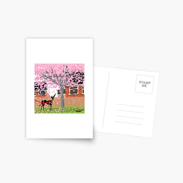 Blossom Hound Postcard