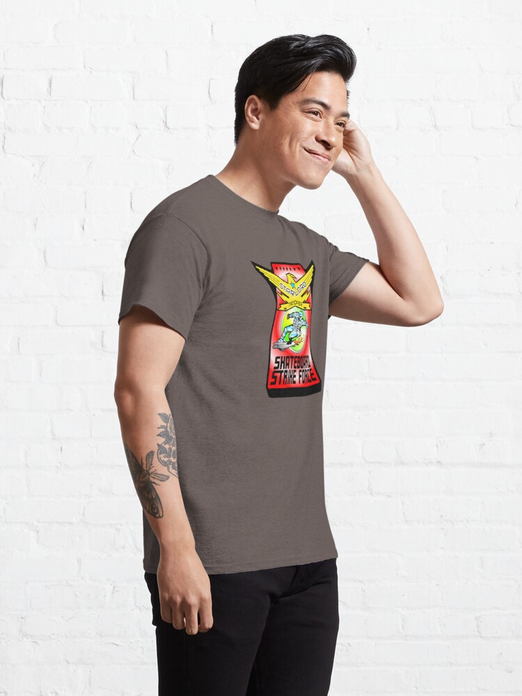 Alternate view of Skateboard Strike Force Trooper Classic T-Shirt