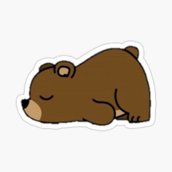 cute bear Sticker