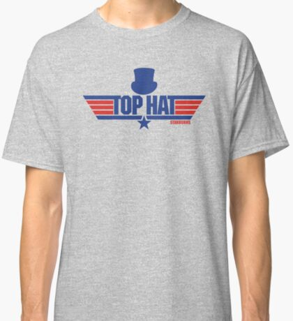 Top Hat (Star-Burns) Classic T-Shirt