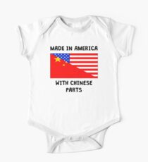 Made In American With Chinese Parts One Piece - Short Sleeve