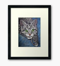 MY mouse!  Get your own. Framed Print