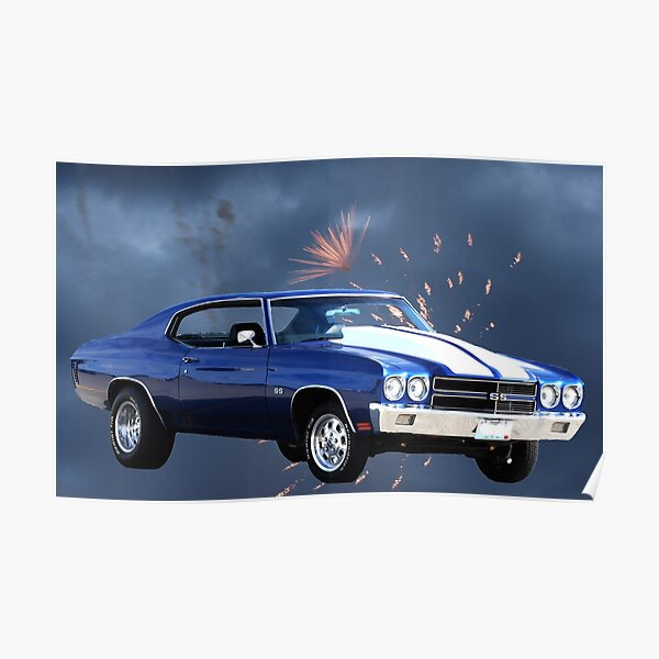 1972 Chevelle SS - Ultimate Musclecar Poster