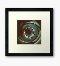 It's a Small World Seattle Framed Print