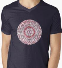 red capricorn Mens V-Neck T-Shirt