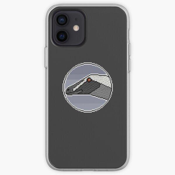 Pixel Velociraptor mongoliensis iPhone Soft Case