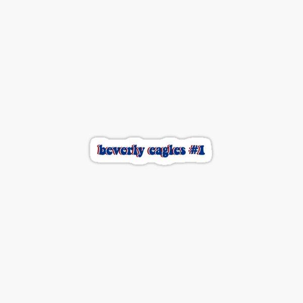 beverly eagles #1 Sticker