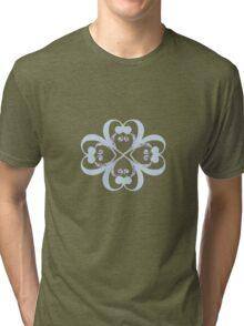 lotus blue Tri-blend T-Shirt