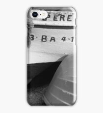 An Old Spanish Fishing Boat named Pere iPhone Case/Skin