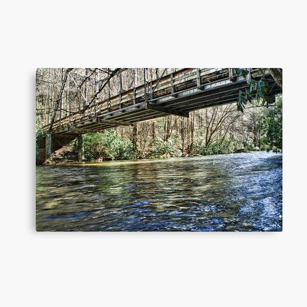 Cataloochee  Creek Canvas Print