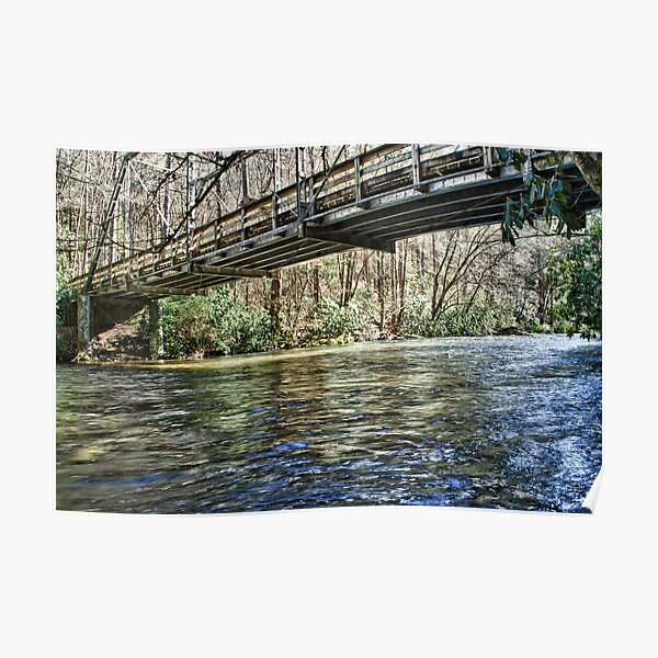 Cataloochee  Creek Poster