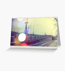 Autobahn Greeting Card