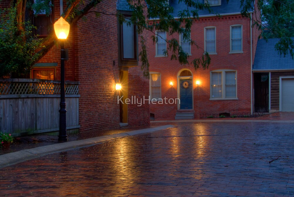 A Street in Downtown Lancaster by KellyHeaton