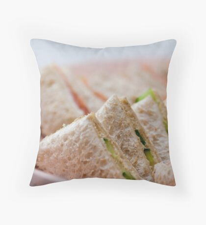 Sunday Lunch for Two Throw Pillow