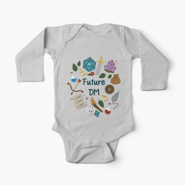 Future DM  Long Sleeve Baby One-Piece
