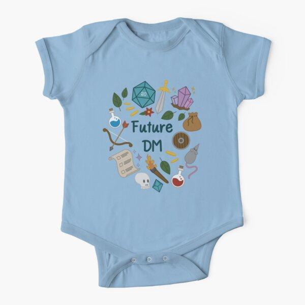 Future DM  Short Sleeve Baby One-Piece
