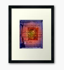 All The World Fears Clowns Framed Print