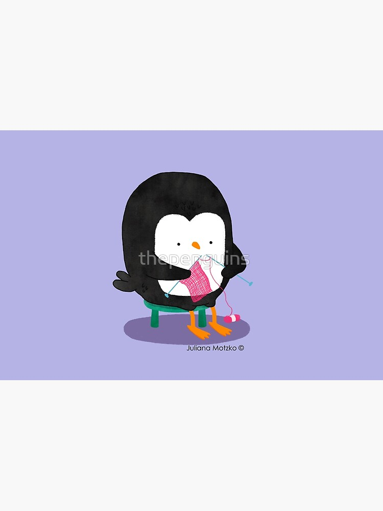 Tricot Penguin by thepenguins