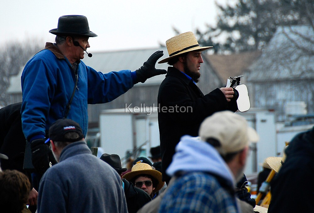 Amish Auctioneer by KellyHeaton