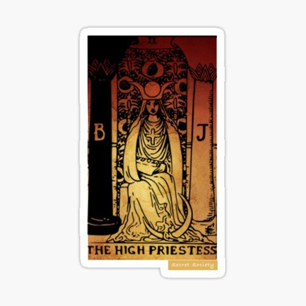 The High Priestess - Secret Society Sticker