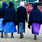 Four Amish Girls by KellyHeaton