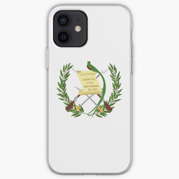 Regalos, pegatinas y otros productos de la bandera de Guatemala Funda blanda para iPhone