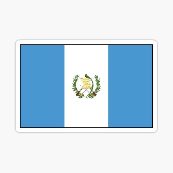 Regalos, pegatinas y otros productos de la bandera de Guatemala Pegatina