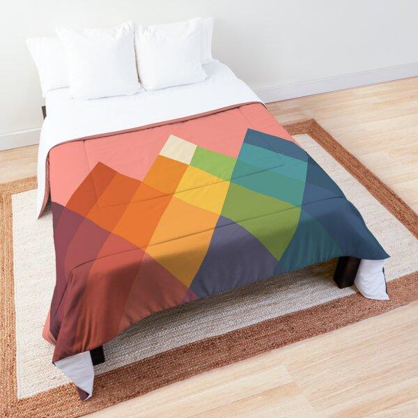 Rainbow Peak Comforter