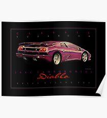 Lamborghini Diablo Posters Redbubble