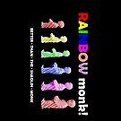 Rainbow Monk! by Gwoeii