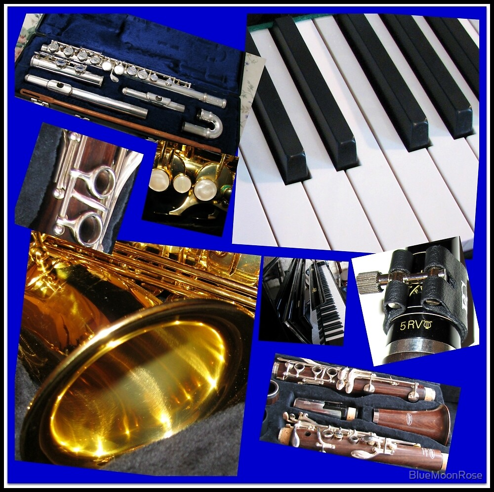 A Musical Miscellany Collage by BlueMoonRose