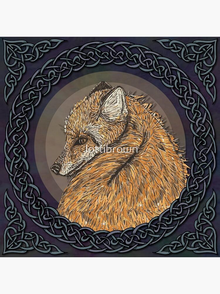 Celtic Fox by lottibrown