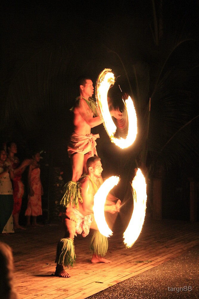 Samoa Fire Dancer by taryn88
