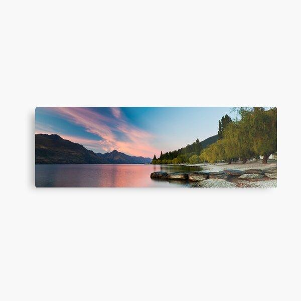 Lake Wakatipu Sunrise II Metal Print