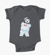 Scared Mr. Stay Puft. Kids Clothes