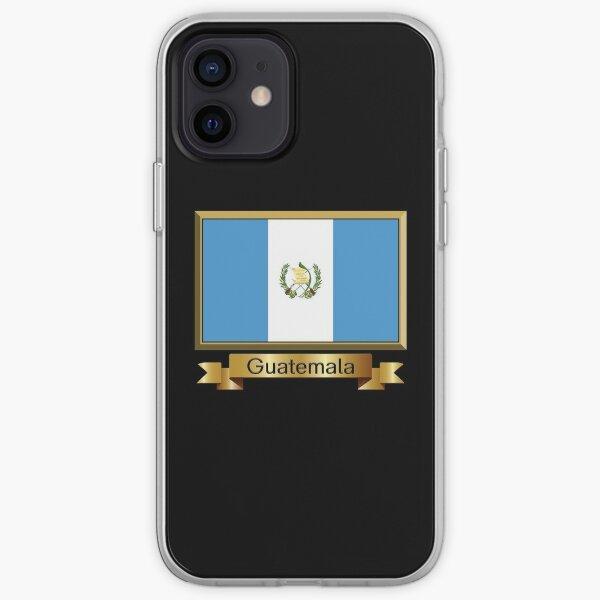 Regalos, pegatinas y productos de la bandera de Guatemala - Nombrados Funda blanda para iPhone